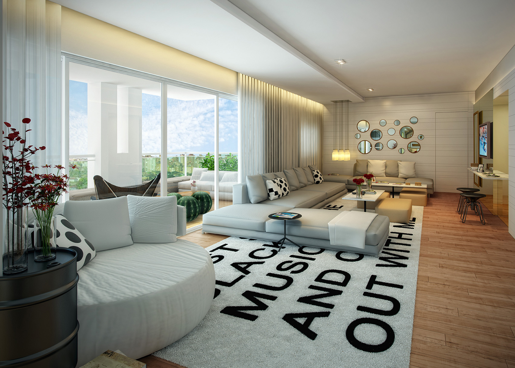 Living - 197 m²