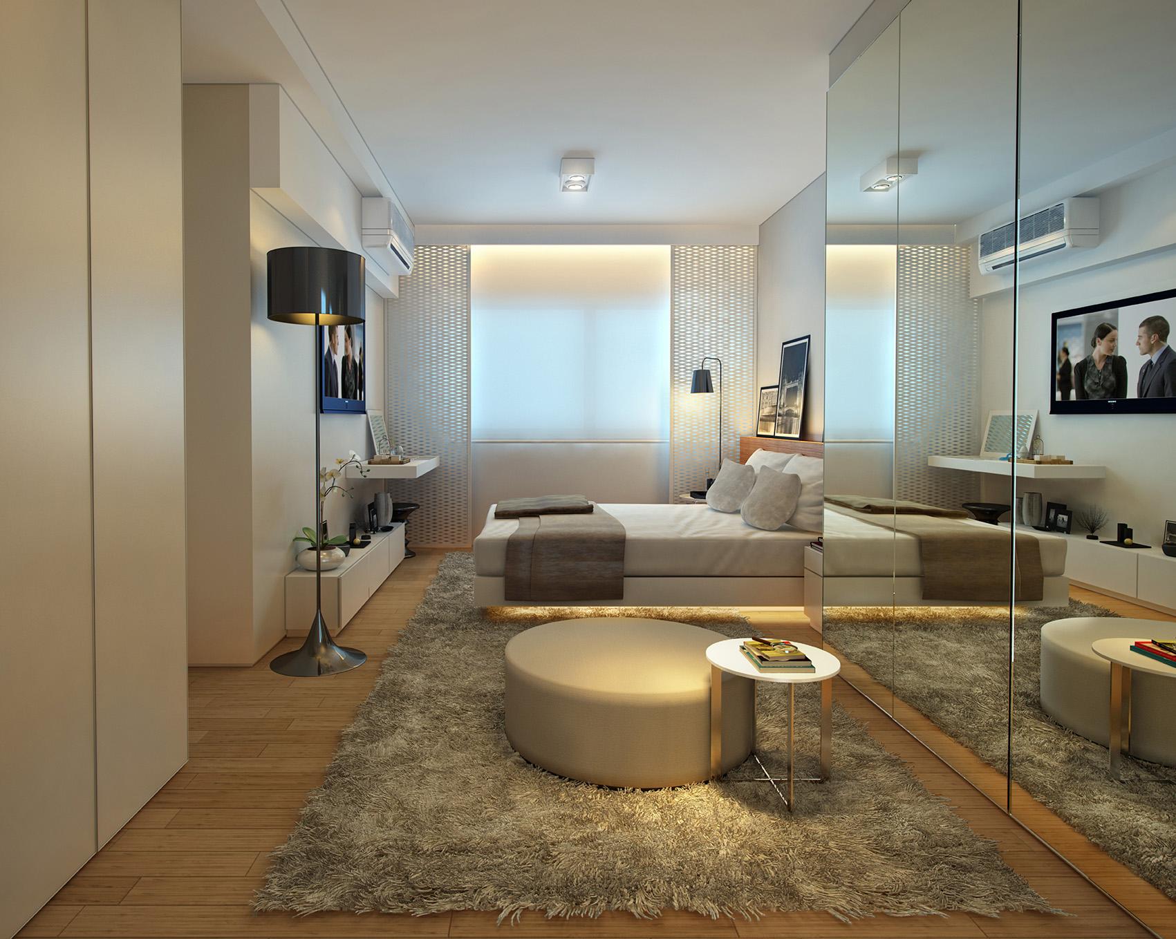 Suíte master - 197 m²