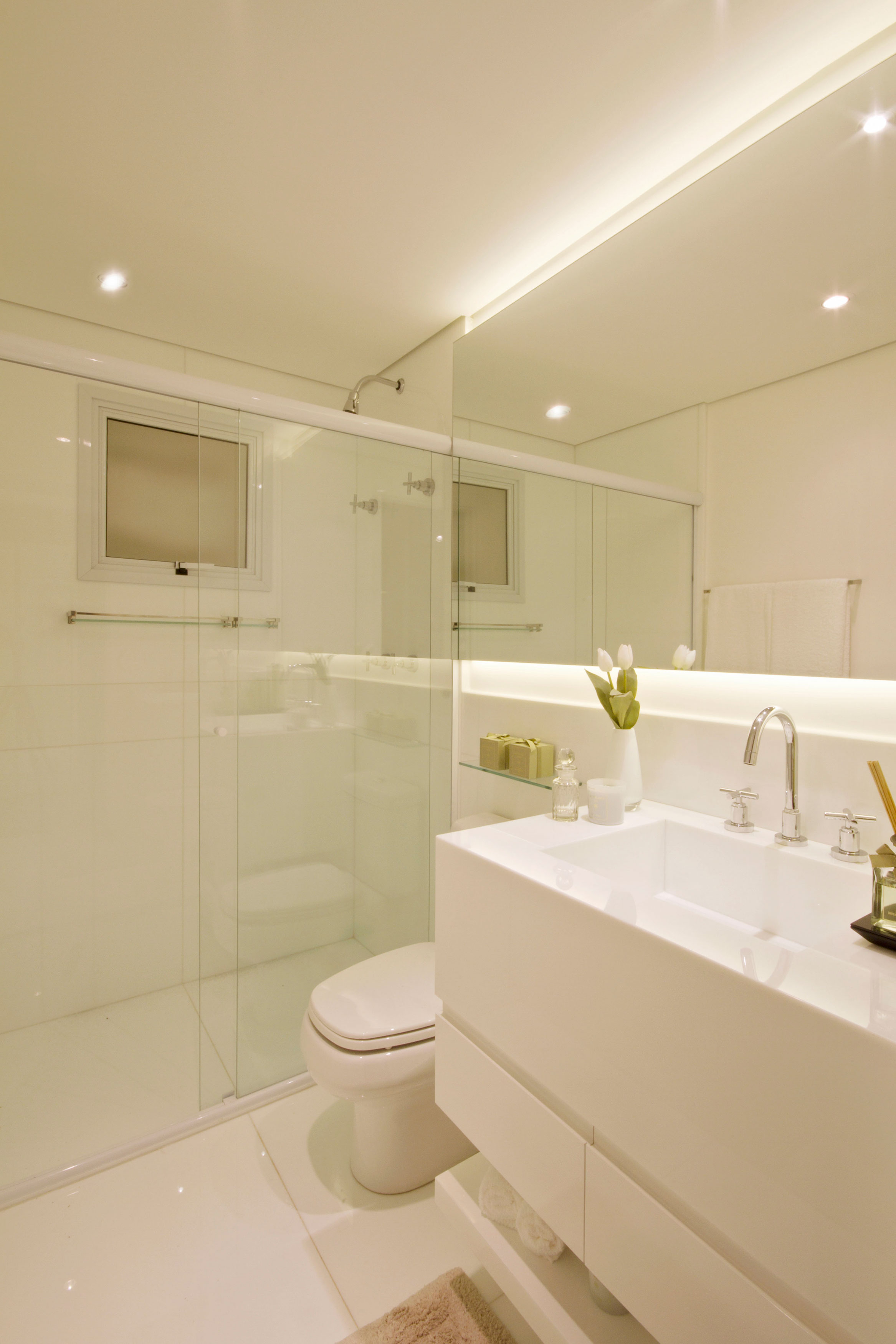 108 m² - Banheiro do casal