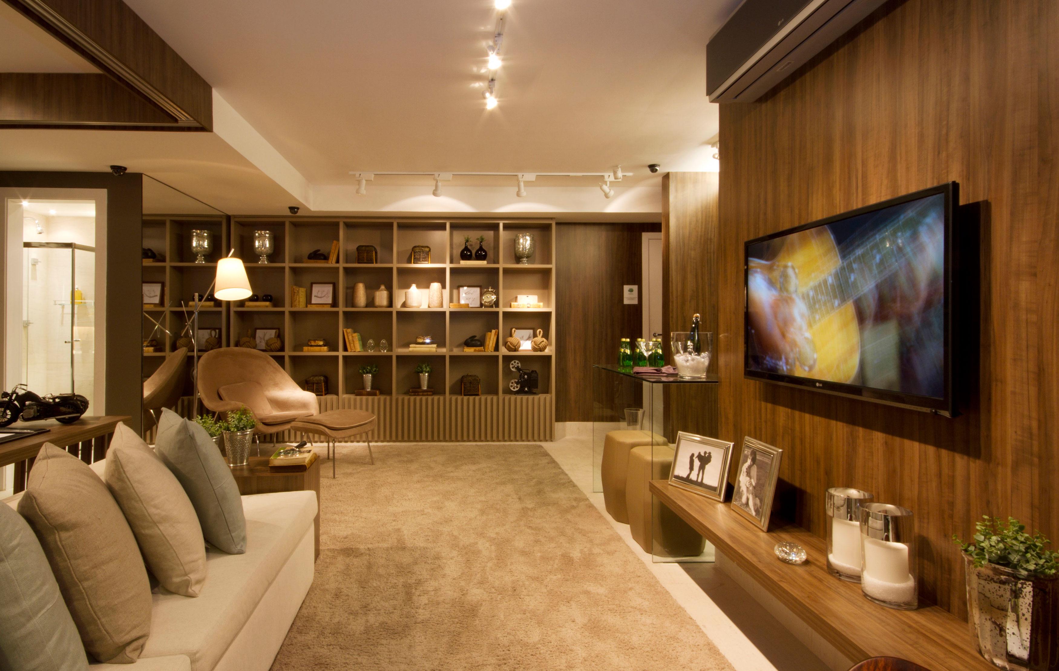 79 m² - Sala de estar