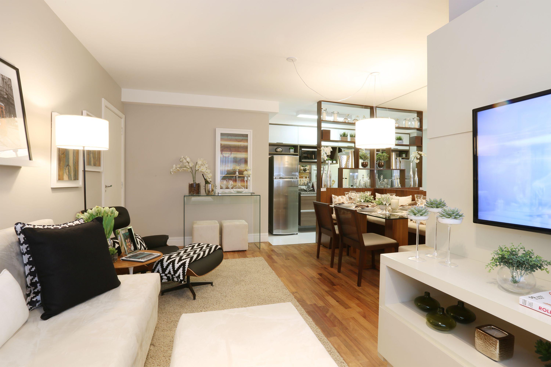 62 m² - Sala de estar