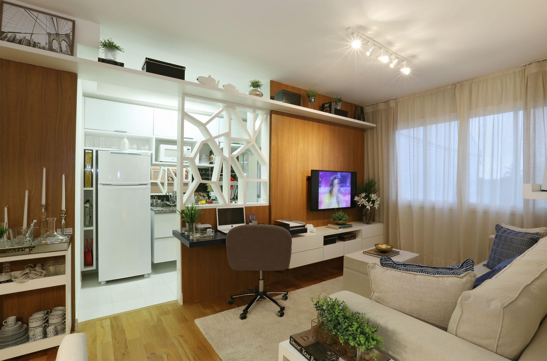 51m² Sala de estar