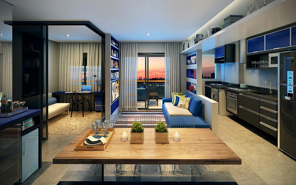 Living - 2 dorms