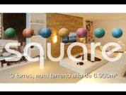 Apartamentos em Guarulhos, 3 e 4 dorms com 109, 134 e 162m² - Square - Tecnisa